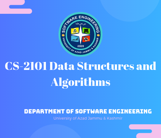 CS-2101 Data Structures and Algorithms