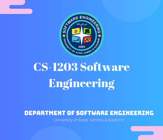 CS-1203 Software Engineering
